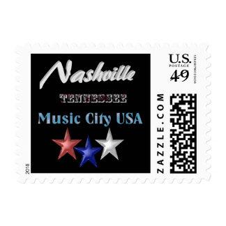 Nashville Tennessee _ US postage stamp