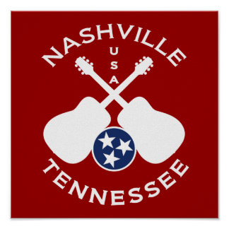 Nashville, Tennessee USA Poster