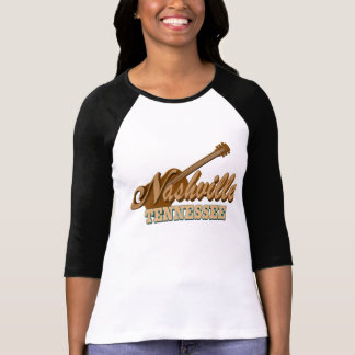 Nashville TN 3/4 Sleeve Raglan T-Shirt