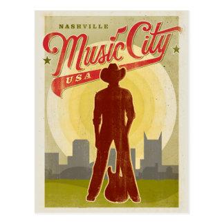 Nashville, TN - ciudad los E.E.U.U. de la música Postales