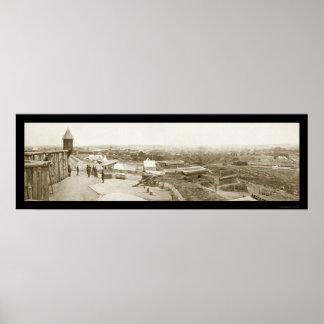 Nashville TN Ft Negley Photo 1864 Poster