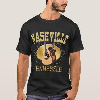 Nashville TN Guitars Men's Dark T-Shirts