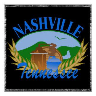 """Nashville TN Moonshine Still 20"""" x 20"""" Poster"""