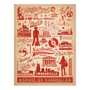 AndersonDesignGroup Nashville, TN - Pattern Print Postcard