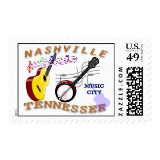 Nashville TN Postage Stamp