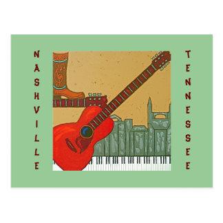 Nashville, TN postcard
