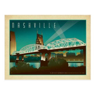 Nashville, TN - puente del St. de Shelby Tarjetas Postales
