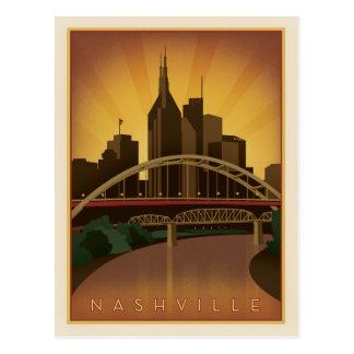 Nashville, TN - puentes de la herencia Tarjeta Postal