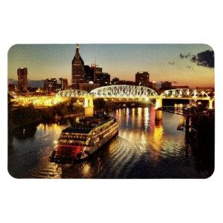 Nashville, TN Rectangular Photo Magnet