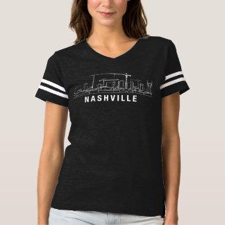 Nashville Under Construction Women's Football Tee