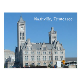 Nashville Union Station Postcard