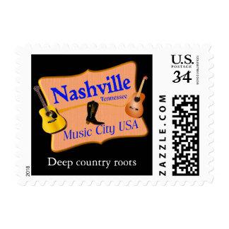 Nashville - US stamp