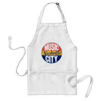 Nashville Vintage Label Apron