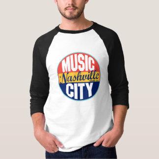 Raglan - Nashville Vintage Label T-Shirt
