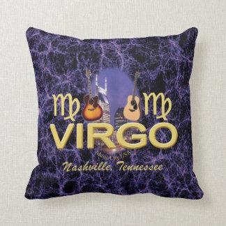 "Nashville Virgo Throw Pillow 16"" x 16"""