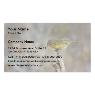 Nashville warbler business cards