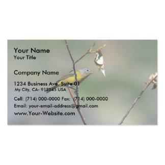 Nashville Warbler (male) Business Card