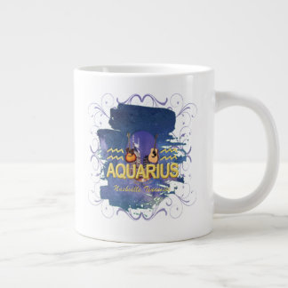 Nashville Zodiac Aquarius Giant Coffee Mug