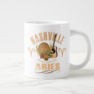 Nashville Zodiac Aries Giant Coffee Mug