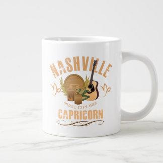 Nashville Zodiac Capricorn Giant Coffee Mug
