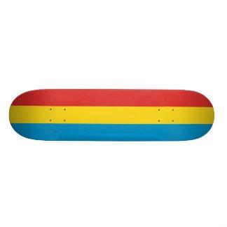 Nasielsk, Poland flag Skate Deck