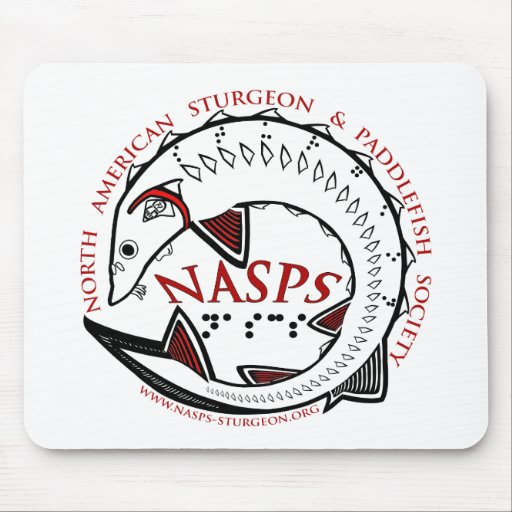 NASPS.org Logo Merchandise Mouse Pad