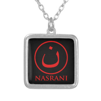 Nasrani  Christian Symbol Silver Plated Necklace