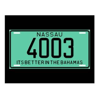 Nassau77 Tarjeta Postal