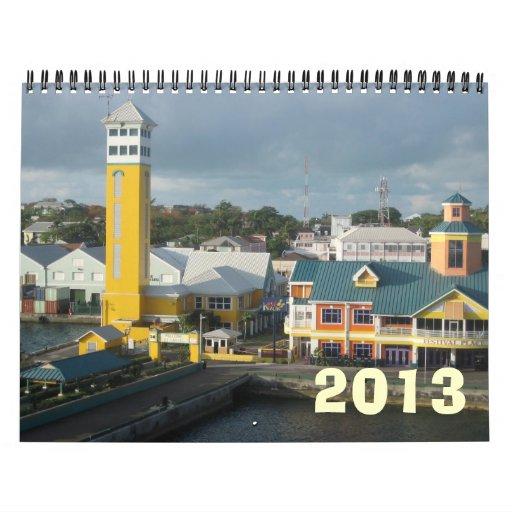 Nassau 2013 calendarios