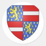 Nassau 2, Netherlands Round Sticker