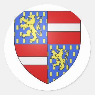 Nassau 2, Netherlands Classic Round Sticker