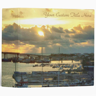 Nassau at Sunrise 3 Ring Binder