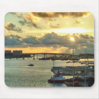 Nassau at Sunrise Mouse Pad