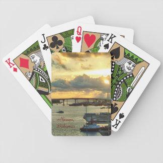 Nassau at Sunrise Bicycle Playing Cards