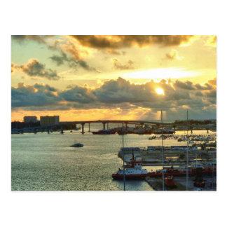 Nassau at Sunrise Postcard