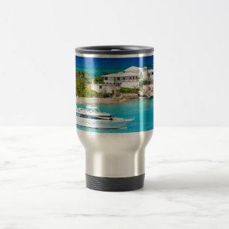Nassau Bahamas 15 Oz Stainless Steel Travel Mug