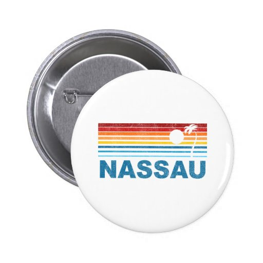 Nassau Bahamas 2 Inch Round Button