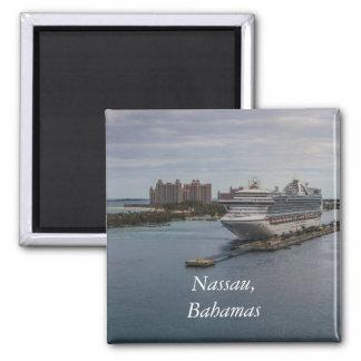 Nassau, Bahamas 2 Inch Square Magnet