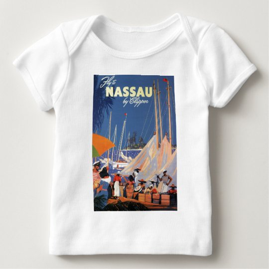 Nassau Bahamas Baby T-Shirt