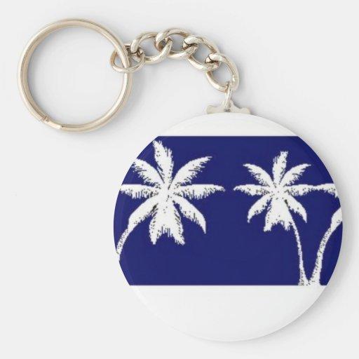 Nassau, Bahamas Basic Round Button Keychain