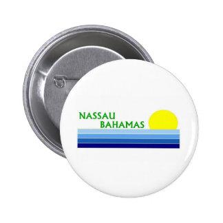 Nassau, Bahamas 2 Inch Round Button