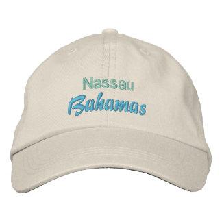 NASSAU, BAHAMAS cap Embroidered Baseball Caps