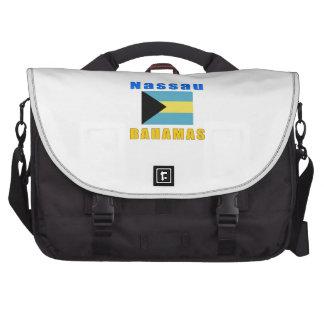 Nassau Bahamas capital designs Laptop Messenger Bag