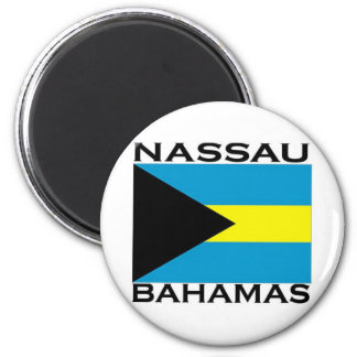 Nassau, Bahamas Imán Redondo 5 Cm