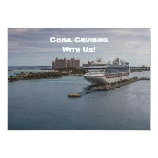 Nassau, Bahamas Invitación 12,7 X 17,8 Cm