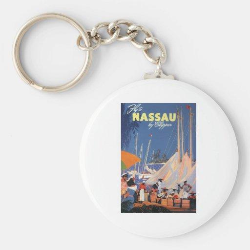 Nassau Bahamas Key Chains