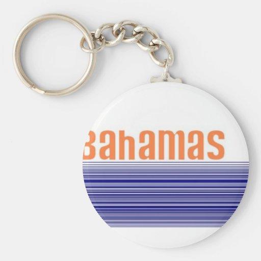 Nassau, Bahamas Keychains