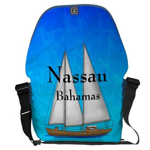 Nassau Bahamas Courier Bags
