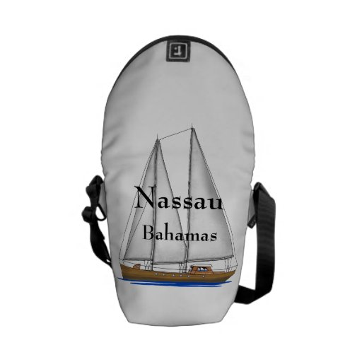 Nassau Bahamas Courier Bag
