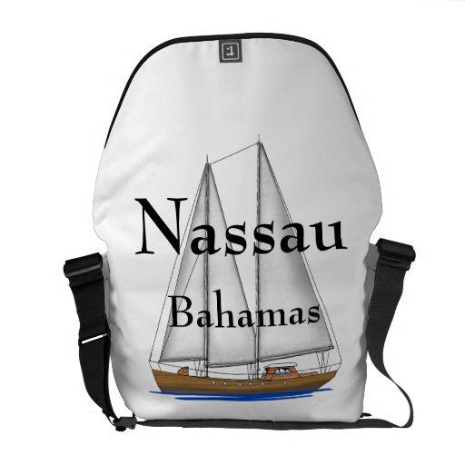 Nassau Bahamas Messenger Bags